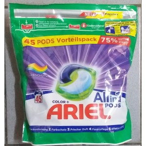 Ariel all in 1 45 capsule color