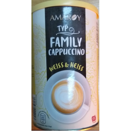 Cappuccino 500g Amaroy Family Weiss&Heiss