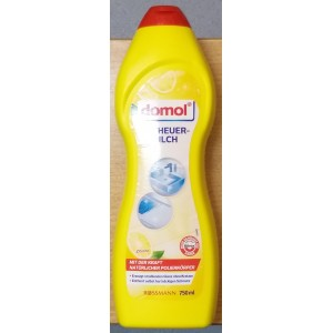 Domol crema abraziva 750ml Lemon