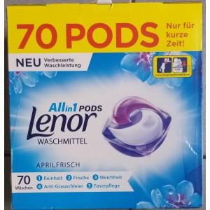 Lenor all in 1 70 capsule universal