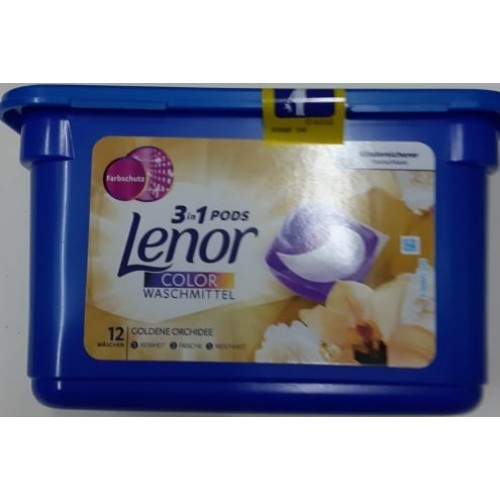 Lenor 3in1 12 capsule orchidee color